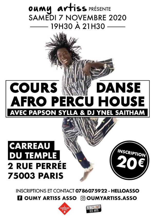 STAGE DANSE AFRO HOUSE